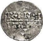 Photo numismatique  ARCHIVES VENTE 2017-7 juin - Coll Fr. Beau CAROLINGIENS MONNAYAGE BARONNIAL DU Xème siècle HUGUES LE GRAND, Duc des Francs. (943-956) 325 Denier, Paris.