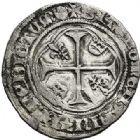 Photo numismatique  VENTE 7 juin 2017 - Coll Fr. Beau et divers ROYALES FRANCAISES CHARLES VII (30 octobre 1422-22 juillet 1461)  328 Blanc à la couronne, 4ème émission, exécutoire le 26 juin 1456, Laon.
