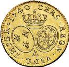 Photo numismatique  ARCHIVES VENTE 2017-7 juin - Coll Fr. Beau ROYALES FRANCAISES LOUIS XV (1er septembre 1715-10 mai 1774)  333 Louis d'or au bandeau, Paris 1740, 1ère année de frappe.