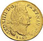 Photo numismatique  VENTE 7 juin 2017 - Coll Fr. Beau et divers ATELIER DE CAEN LOUIS XIV (14 mai 1643-1er septembre 1715)  337 Louis d'or aux quatre L, 1695 C.