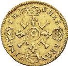 Photo numismatique  VENTE 7 juin 2017 - Coll Fr. Beau et divers ATELIER DE CAEN LOUIS XIV (14 mai 1643-1er septembre 1715)  338 Louis d'or aux quatre L, 1697 C.