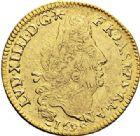Photo numismatique  VENTE 7 juin 2017 - Coll Fr. Beau et divers ATELIER DE CAEN LOUIS XIV (14 mai 1643-1er septembre 1715)  340 Louis d'or aux quatre L, 1699 C.