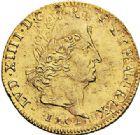 Photo numismatique  ARCHIVES VENTE 2017-7 juin - Coll Fr. Beau ATELIER DE CAEN LOUIS XIV (14 mai 1643-1er septembre 1715)  344 Louis d'or aux huit L et insignes, 1701 C.