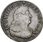 Photo numismatique  ARCHIVES VENTE 2017-7 juin - Coll Fr. Beau ATELIER DE CAEN LOUIS XIV (14 mai 1643-1er septembre 1715)  348 Écu aux palmes, 1694 C.