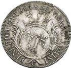 Photo numismatique  VENTE 7 juin 2017 - Coll Fr. Beau et divers ATELIER DE CAEN LOUIS XIV (14 mai 1643-1er septembre 1715)  348 Écu aux palmes, 1694 C.