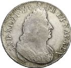 Photo numismatique  ARCHIVES VENTE 2017-7 juin - Coll Fr. Beau ATELIER DE CAEN LOUIS XIV (14 mai 1643-1er septembre 1715)  349 Écu aux palmes, 1695 C.