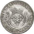 Photo numismatique  VENTE 7 juin 2017 - Coll Fr. Beau et divers ATELIER DE CAEN LOUIS XIV (14 mai 1643-1er septembre 1715)  350 Écu aux palmes, 1697 C.