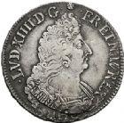 Photo numismatique  VENTE 7 juin 2017 - Coll Fr. Beau et divers ATELIER DE CAEN LOUIS XIV (14 mai 1643-1er septembre 1715)  353 1/2 écu aux palmes, 1696 C.