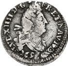 Photo numismatique  VENTE 7 juin 2017 - Coll Fr. Beau et divers ATELIER DE CAEN LOUIS XIV (14 mai 1643-1er septembre 1715)  354 1/4 d'écu aux palmes, 1694 C et quadruple sol aux deux L, 1697/6 C.