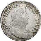 Photo numismatique  ARCHIVES VENTE 2017-7 juin - Coll Fr. Beau ATELIER DE CAEN LOUIS XIV (14 mai 1643-1er septembre 1715)  355 Écu aux insignes, 1701 C.