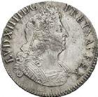 Photo numismatique  ARCHIVES VENTE 2017-7 juin - Coll Fr. Beau ATELIER DE CAEN LOUIS XIV (14 mai 1643-1er septembre 1715)  356 Écu aux insignes, 1702 C.