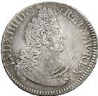 Photo numismatique  ARCHIVES VENTE 2017-7 juin - Coll Fr. Beau ATELIER DE CAEN LOUIS XIV (14 mai 1643-1er septembre 1715)  358 1/2 écu aux insignes, 1702 C.