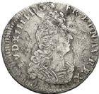 Photo numismatique  VENTE 7 juin 2017 - Coll Fr. Beau et divers ATELIER DE CAEN LOUIS XIV (14 mai 1643-1er septembre 1715)  361 1/12ème d'écu aux insignes, 1702 C et 5 sols aux insignes, 1703C.