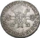 Photo numismatique  ARCHIVES VENTE 2017-7 juin - Coll Fr. Beau ATELIER DE CAEN LOUIS XIV (14 mai 1643-1er septembre 1715)  362 Écu aux huit L 2e type, 1704 C.