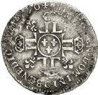 Photo numismatique  ARCHIVES VENTE 2017-7 juin - Coll Fr. Beau ATELIER DE CAEN LOUIS XIV (14 mai 1643-1er septembre 1715)  365 1/12ème d'écu aux huit L 2e type, 1704 C.