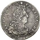 Photo numismatique  ARCHIVES VENTE 2017-7 juin - Coll Fr. Beau ATELIER DE CAEN LOUIS XIV (14 mai 1643-1er septembre 1715)  366 1/12ème d'écu aux huit L 2e type, 1705 C.