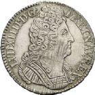 Photo numismatique  ARCHIVES VENTE 2017-7 juin - Coll Fr. Beau ATELIER DE CAEN LOUIS XIV (14 mai 1643-1er septembre 1715)  369 Écu aux trois couronnes, 1712 C.