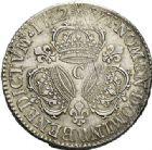 Photo numismatique  VENTE 7 juin 2017 - Coll Fr. Beau et divers ATELIER DE CAEN LOUIS XIV (14 mai 1643-1er septembre 1715)  369 Écu aux trois couronnes, 1712 C.