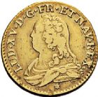 Photo numismatique  VENTE 7 juin 2017 - Coll Fr. Beau et divers ATELIER DE CAEN LOUIS XV (1er septembre 1715-10 mai 1774)  381 Louis d'or aux lunettes, 1729 C.