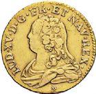 Photo numismatique  VENTE 7 juin 2017 - Coll Fr. Beau et divers ATELIER DE CAEN LOUIS XV (1er septembre 1715-10 mai 1774)  385 Louis d'or aux lunettes, 1736 C.