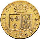 Photo numismatique  ARCHIVES VENTE 2017-7 juin - Coll Fr. Beau ROYALES FRANCAISES LOUIS XVI (10 mai 1774–21 janvier 1793)  467 Louis d'or à la tête nue, Paris 1786.