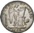 Photo numismatique  ARCHIVES VENTE 2017-7 juin - Coll Fr. Beau MODERNES FRANÇAISES LA CONVENTION (22 septembre 1792 - 26 octobre 1795)  468- Écu de six livres, Paris 1793 an II.