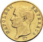 Photo numismatique  ARCHIVES VENTE 2017-7 juin - Coll Fr. Beau MODERNES FRANÇAISES NAPOLEON Ier, empereur (18 mai 1804- 6 avril 1814)  471 40 francs or, Paris an 13.