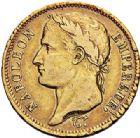 Photo numismatique  ARCHIVES VENTE 2017-7 juin - Coll Fr. Beau MODERNES FRANÇAISES NAPOLEON Ier, empereur (18 mai 1804- 6 avril 1814)  472 40 francs or, Paris 1811.