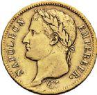 Photo numismatique  VENTE 7 juin 2017 - Coll Fr. Beau et divers MODERNES FRANÇAISES NAPOLEON Ier, empereur (18 mai 1804- 6 avril 1814)  473- 40 francs or, Paris 1811.