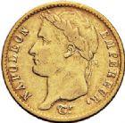 Photo numismatique  VENTE 7 juin 2017 - Coll Fr. Beau et divers MODERNES FRANÇAISES NAPOLEON Ier, empereur (18 mai 1804- 6 avril 1814)  476- 20 francs or, Paris 1810.