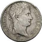 Photo numismatique  ARCHIVES VENTE 2017-7 juin - Coll Fr. Beau MODERNES FRANÇAISES NAPOLEON et LOUIS-PHILIPPE  478- Lot de 2 pièces de 5 francs, 1811, 1831.