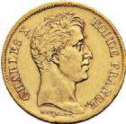 Photo numismatique  ARCHIVES VENTE 2017-7 juin - Coll Fr. Beau MODERNES FRANÇAISES CHARLES X (16 septembre 1824-2 août 1830)  485- 40 francs or, Paris 1830.