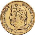 Photo numismatique  ARCHIVES VENTE 2017-7 juin - Coll Fr. Beau MODERNES FRANÇAISES LOUIS-PHILIPPE Ier (9 août 1830-24 février 1848)  487- 40 francs or, Paris 1831.
