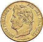 Photo numismatique  VENTE 7 juin 2017 - Coll Fr. Beau et divers MODERNES FRANÇAISES LOUIS-PHILIPPE Ier (9 août 1830-24 février 1848)  489- 20 francs or, Paris 1839.