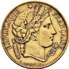 Photo numismatique  VENTE 7 juin 2017 - Coll Fr. Beau et divers MODERNES FRANÇAISES 2e REPUBLIQUE (24 février 1848-2 décembre 1852)  493- 20 francs or, Paris 1850.