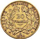 Photo numismatique  ARCHIVES VENTE 2017-7 juin - Coll Fr. Beau MODERNES FRANÇAISES 2ème RÉPUBLIQUE (24 février 1848-2 décembre 1852)  493- 20 francs or, Paris 1850.