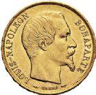 Photo numismatique  VENTE 7 juin 2017 - Coll Fr. Beau et divers MODERNES FRANÇAISES LOUIS-NAPOLEON BONAPARTE Prince-Président (2 décembre 1851-2 décembre 1852)  495- 20 francs or, Paris 1852.