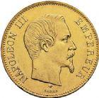 Photo numismatique  ARCHIVES VENTE 2017-7 juin - Coll Fr. Beau MODERNES FRANÇAISES NAPOLEON III, empereur (2 décembre 1852-1er septembre 1870)  497- 100 francs or, Paris 1857.