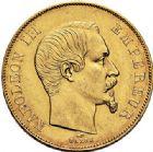 Photo numismatique  VENTE 7 juin 2017 - Coll Fr. Beau et divers MODERNES FRANÇAISES NAPOLEON III, empereur (2 décembre 1852-1er septembre 1870)  499 50 francs or, Paris 1855.