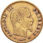 Photo numismatique  VENTE 7 juin 2017 - Coll Fr. Beau et divers MODERNES FRANÇAISES NAPOLEON III, empereur (2 décembre 1852-1er septembre 1870)  500- 5 francs or, Paris 1860.