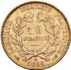 Photo numismatique  ARCHIVES VENTE 2017-7 juin - Coll Fr. Beau MODERNES FRANÇAISES 3ème REPUBLIQUE (4 septembre 1870-10 juillet 1940)  510- 10 francs or, Paris 1899.