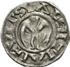 Photo numismatique  ARCHIVES VENTE 2017-7 juin - Coll Fr. Beau BARONNIALES - POIDS de VILLE Evêché de VALENCE  516- (XIIe-XIIIe siècles). Denier.