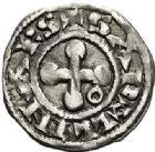 Photo numismatique  VENTE 7 juin 2017 - Coll Fr. Beau et divers BARONNIALES - POIDS de VILLE Evêché de VALENCE  516- (XIIe-XIIIe siècles). Denier.