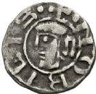 Photo numismatique  ARCHIVES VENTE 2017-7 juin - Coll Fr. Beau BARONNIALES - POIDS de VILLE Archevêché de VIENNE ANONYMES (vers 1150-1200) 520- Obole.