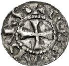 Photo numismatique  VENTE 7 juin 2017 - Coll Fr. Beau et divers BARONNIALES - POIDS de VILLE Comté de LYON CONRAD, roi de Bourgogne (937-979) 521- Denier.