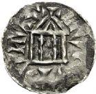 Photo numismatique  ARCHIVES VENTE 2017-7 juin - Coll Fr. Beau BARONNIALES - POIDS de VILLE Comté de LYON RODOLPHE III, roi de Bourgogne (993-1032) 522- Obole.