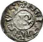 Photo numismatique  ARCHIVES VENTE 2017-7 juin - Coll Fr. Beau BARONNIALES - POIDS de VILLE Comté de LYON HENRI LE NOIR Roi de Bourgogne (1038-1056) 523- Denier.