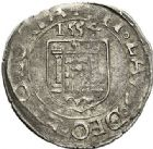Photo numismatique  VENTE 7 juin 2017 - Coll Fr. Beau et divers BARONNIALES - POIDS de VILLE Principauté de VAUVILLERS Nicolas de Châtelet (vers 1525-1562) 530- Carolus, imitation de la monnaie de Besançon, 1554.