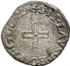 Photo numismatique  ARCHIVES VENTE 2017-7 juin - Coll Fr. Beau BARONNIALES - POIDS de VILLE Principauté de VAUVILLERS Nicolas de Châtelet (vers 1525-1562) 532 Liard de billon à la croisette, s.d.