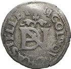 Photo numismatique  ARCHIVES VENTE 2017-7 juin - Coll Fr. Beau BARONNIALES - POIDS de VILLE Principauté de VAUVILLERS Nicolas de Châtelet (vers 1525-1562) 533 Liard de billon à la croisette, s.d.